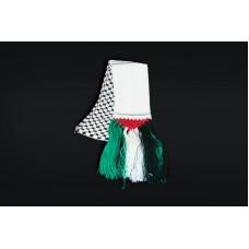 Palestine Flag Kufiya Scarf