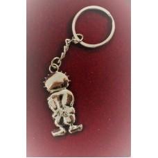 Hanthala shiny silver key hanger