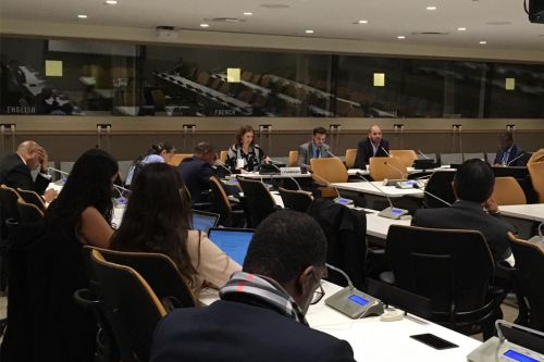 PRC's UNGA Event Calls for Urgent Action to Work out Palestine Refugee Crisis