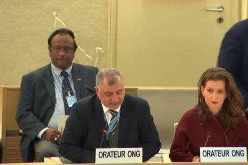 PRC Speaks Out against Israel's Jewish Nation-State Law at UNHRC