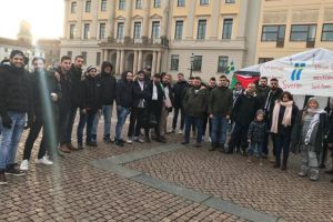 Palestinian Refugees Rally in Sweden after Authorities Deny Them Right to Asylum
