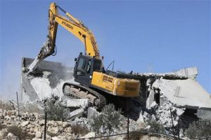 Israeli Forces Demolish Palestinian Wedding Hall near Tulkarem