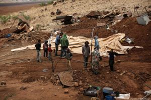 Residential Tent Demolished in Northern Jordan Valley by Israeli Occupation Forces