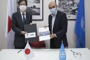 Japan Contributes Approximately US$ 4.3 Million for Food Assistance to Palestine Refugees