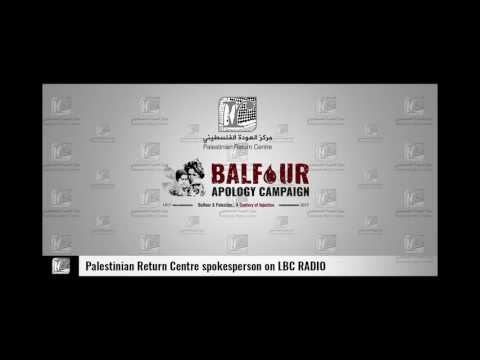 PRC's Comment on House of Lords' Balfour Event