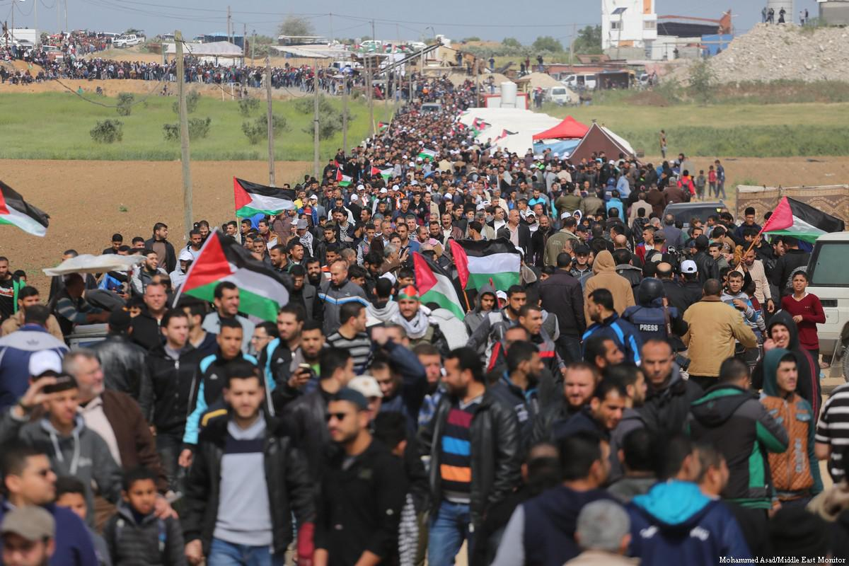 Great March of Return: Gazan youth protests repressed by Israel's colonial violence