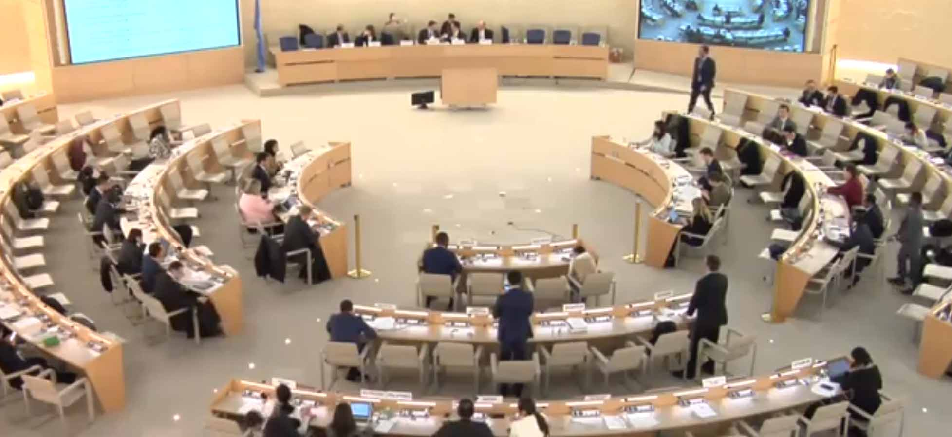 PRC Meets the Special Rapporteur and Delivers Oral Statement at the Human Rights Council
