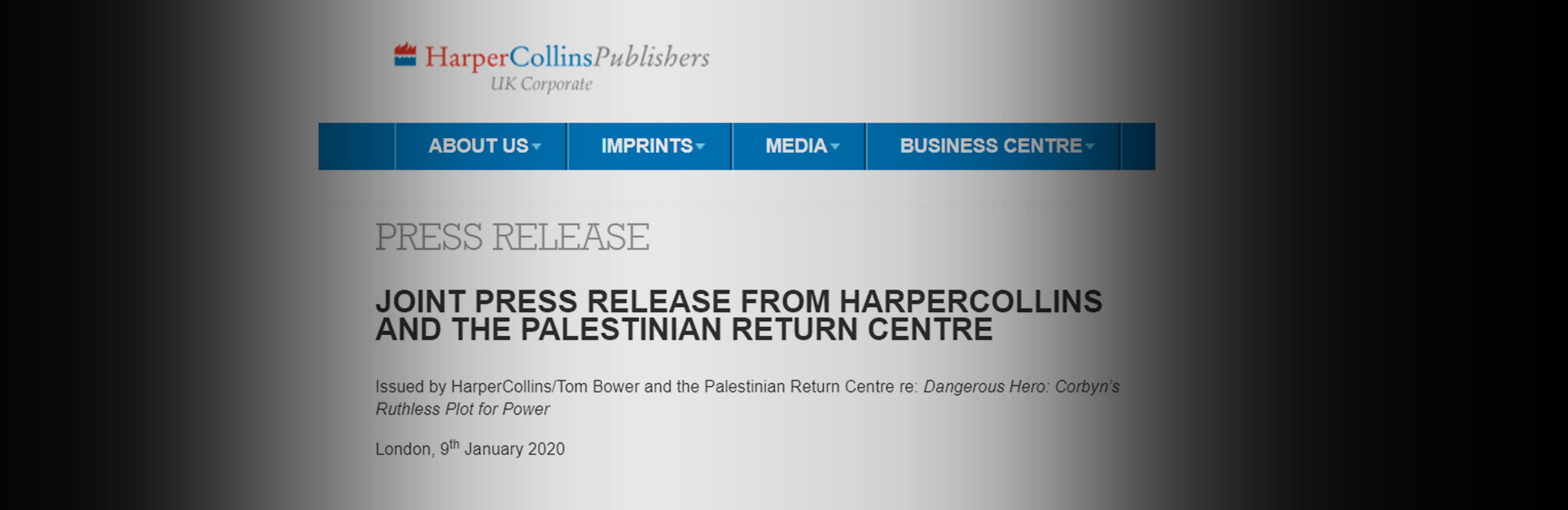 Harper Collins and Tom Bower withdraw false and defamatory allegations against the PRC